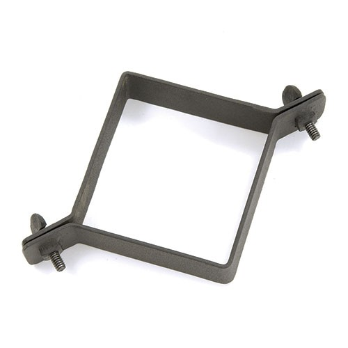 Post Deflector Clamp - Powder Black (Hardware)
