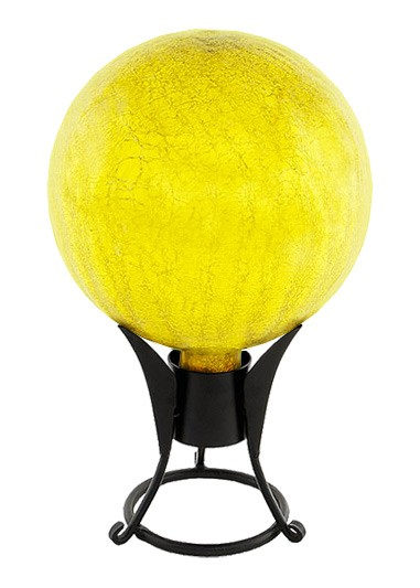 Garden Gazing Globe - Canary Yellow Garden Globe (Garden Supplies) Web