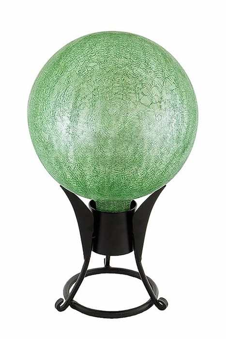 Garden Gazing Globe - Light Green Garden Globe (Garden Supplies) Web