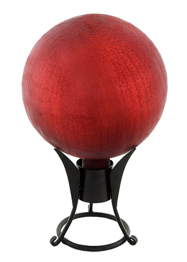 Garden Gazing Globe - Ruby Red Garden Globe (Garden Supplies) Thumb