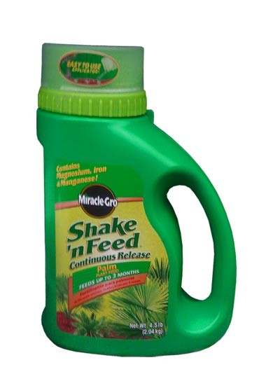 Miracle-Gro Shake and Feed Fertilizer for Palm Trees