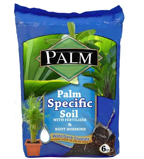 Areca Palm Specific Enriched Soil - Palm Soil (web)