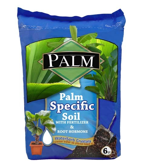 Fiji Fan Palm Specific Enriched Soil - Palm Soil (web)