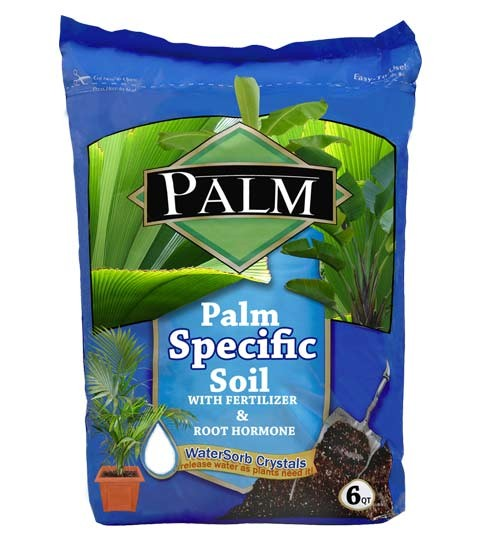 Bottle Palm Specific Enriched Soil - Palm Soil (web)