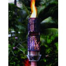 Outdoor Gas Tiki Torch - Hawaiin Hand Crafted Bamboo Tiki Torch